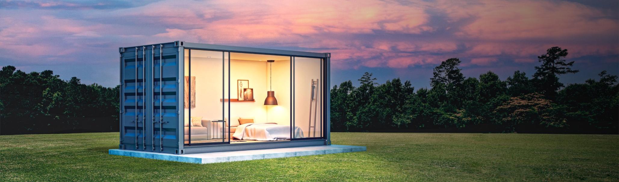 contenedor habitable en españa, tymsa casas hechas con contenedores maritimos