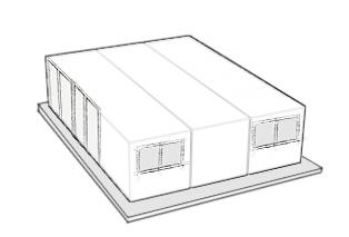 casa fabricada con tres contenedores maritimos